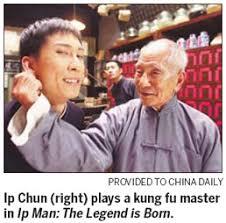 Late kung fu master Ip Man's son nominated movie award - China.org.cn
