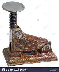 century office equipment. stock photo office equipment stapler germany circa 1898 invention iron 19th century historic historical decorated rusty r c