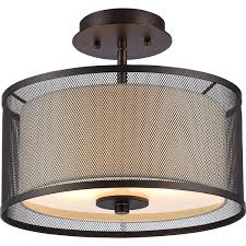 oil rubbed bronze bathroom ceiling light fixtures. chloe lighting audrey transitional 2 light rubbed bronze semi-flush ceiling 13\ oil bathroom fixtures