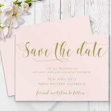romantic blush pink and gold wedding invitation with matching Calligraphy Wedding Invitations Australia romantic blush pink and gold wedding invitation with matching suite accessories by peach perfect australia Wedding Calligraphy Envelopes