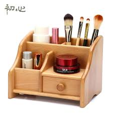 wooden makeup organizer with drawers makeup organizer wood retro wood box storage wood makeup organizer drawers