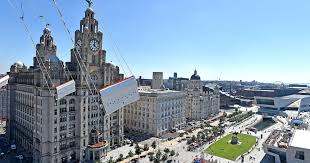 Check out this amazing view of Liverpool from the <b>60m</b>-<b>high</b> Sky ...