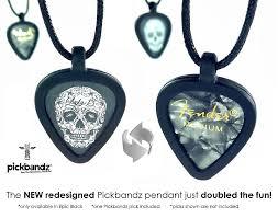 pickbandz guitar pick necklace pick holder