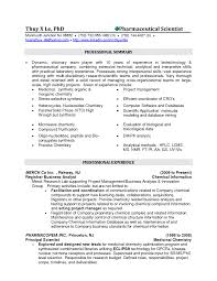 Resume For A Chemistry Lab Technician Microbiology S Peppapp