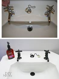 eight years ago my friend roeshel at diy showoff decided to spray paint her faucets with oil rubbed bronze spray paint she reports that all these years