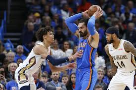 New Orleans Pelicans Depth Chart Oklahoma City Thunder Win At Home Against The Young New