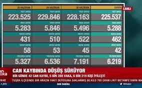 SON DAKİKA! 42 kişi vefat etti! | Türkiye'nin 1 Temmuz 2021 koronavirüs  tablosu açıklandı - Video - AHaber Video İzle