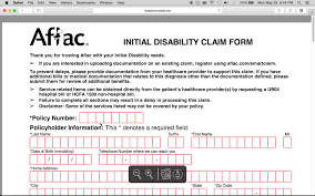 Aflac Claim Form How to Fillin Aflac Claim Form YouTube 1