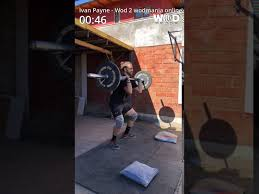 Iván Payne- WOD 2 - YouTube