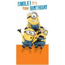48 Best Minions Images Minion Card Minion S Happy Birthday Signs