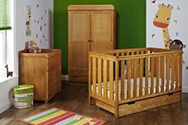 Obaby York Nursery Furniture Set 3 Pieces Country Pine Amazon