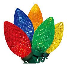 C9 Lights Walmart Holiday Time Multi Color Led C9 Lights 100 Count Walmart Com