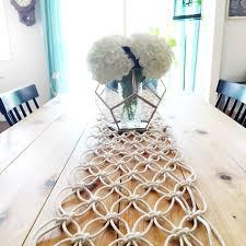 DIY Macrame Table Runner