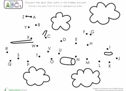Dot To Dots Worksheets Free Printables Educationcom