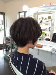 マッシュショートでかわいくきめる丸顔さんにおすすめヘアhair