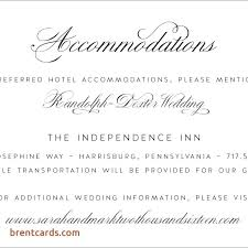 how to word hotel accommodations for wedding invitations wedding invitation accommodation card wedding invitation wording for