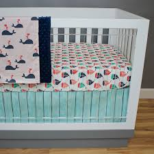 bedding sets for cribs nautica baby bedding whale bedding