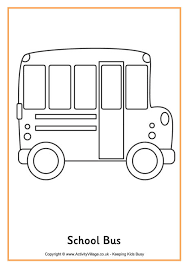 Small Picture school bus Back to school dibujos para colorear de Activity