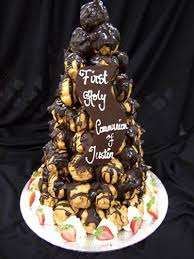 Croquembouche Tower Profiterole Tower Eiffel Tower Cakes
