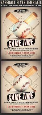 Free Baseball Flyer Template Baseball Game Flyer Template Baseball Flyer Game Sports