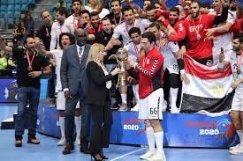 """منتخب مصر لكرة اليد يتوّج بـ""""الأمم الأفريقية"""" ويحجز تذكرة لـ""""أولمبياد  طوكيو"""""""