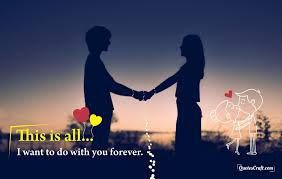 Love You Forever Romantic Quotes Love Couple Quotes Quotescraft