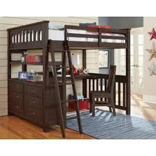Cool bunk beds with desk Bedroom Stella Full Loft Bed With Desk Wayfair Bunk Desk Kids Beds Youll Love Wayfair