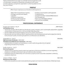 Cover Letter Electrician Sample Resume For A Construction Carpenter ...