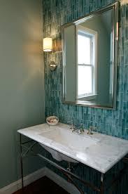 elegant design for turquoise glass tile ideas blue glass tiles design ideas