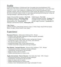 Hair Stylist Resume – Daxnet.me