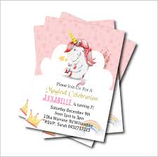 kids birthday party invitations us 5 39 40 off 14 pcs lot unicorn birthday party invitations magic baby shower invites kids birthday party decoration supply free shipping in cards