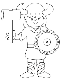 viking colouring sheets coloring pages for kids countries book minnesota vikings colori