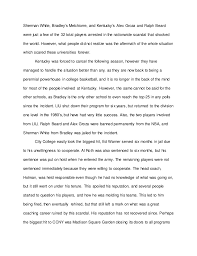 composition research paper college basketball scandals of  the nation s top players including long island s 3