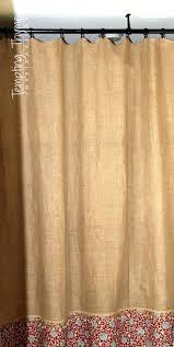 linen burlap dry fabric full size of curtainsmorgan burlap shower curtains now for brown burlap