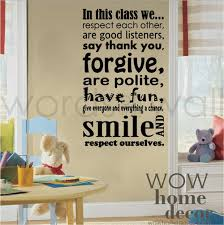 vinyl wall art decal class room rules school classroom quote wall decal learning wall decal on vinyl wall art decals graphics stickers with vinyl wall art decal class room rules school classroom quote wall