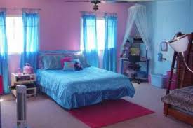 Pink And Blue Bedroom Style Plans