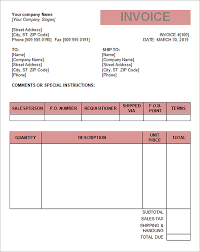Invoice Template Word 100 Tax Invoice Template Download Free Documents in Word PDF Excel 64