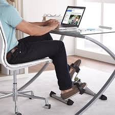 stamina instride folding pedal exerciser pedal away at your desk