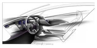 car interior sketch. Delighful Car Cadillac Interior Sketch For Car D
