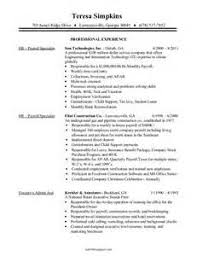 payroll administrator resume examples 2 payroll administration resume