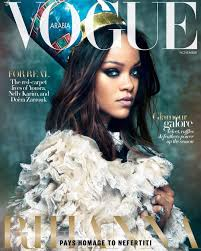 Rihanna Slays On Vogue Arabia Cover Glitter Magazine