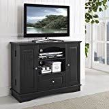 walker edison 42 highboy style wood tv stand console amazoncom altra furniture ryder apothecary