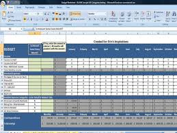 Excel Monthly Budget Spreadsheet Simple Budget Worksheet Editable For Your Budget Binder And