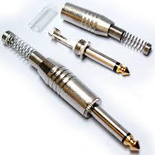 6 35mm 1 4 mono stereo er connectors thatcable com 6 35mm 1 4 mono jack plug audio er connector