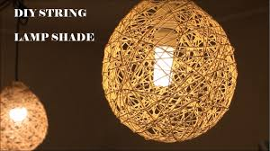 Diy Lampshade With Cotton Thread Or Twine