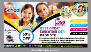 school brochure design ideas school brochure design free vector school banners
