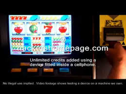Cell Phone Vending Machine Hack Classy Cheat Slot Machine With EMP Inside Phone YouTube
