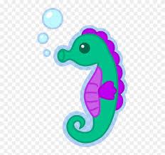 cute seahorse clipart. Perfect Cute Seahorse Clipart Transparent  Cute Sea Horse Png Inside
