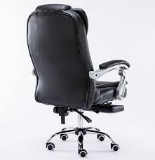 luxury leather office chair. luxury chair reclining swivel office with footrest ergonomic creamy white leather