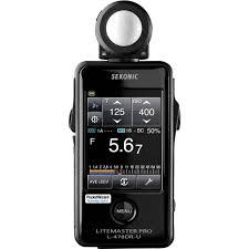 Light Meter For Photography Sekonic Litemaster Pro L 478dr U Light Meter For Pocketwizard System
